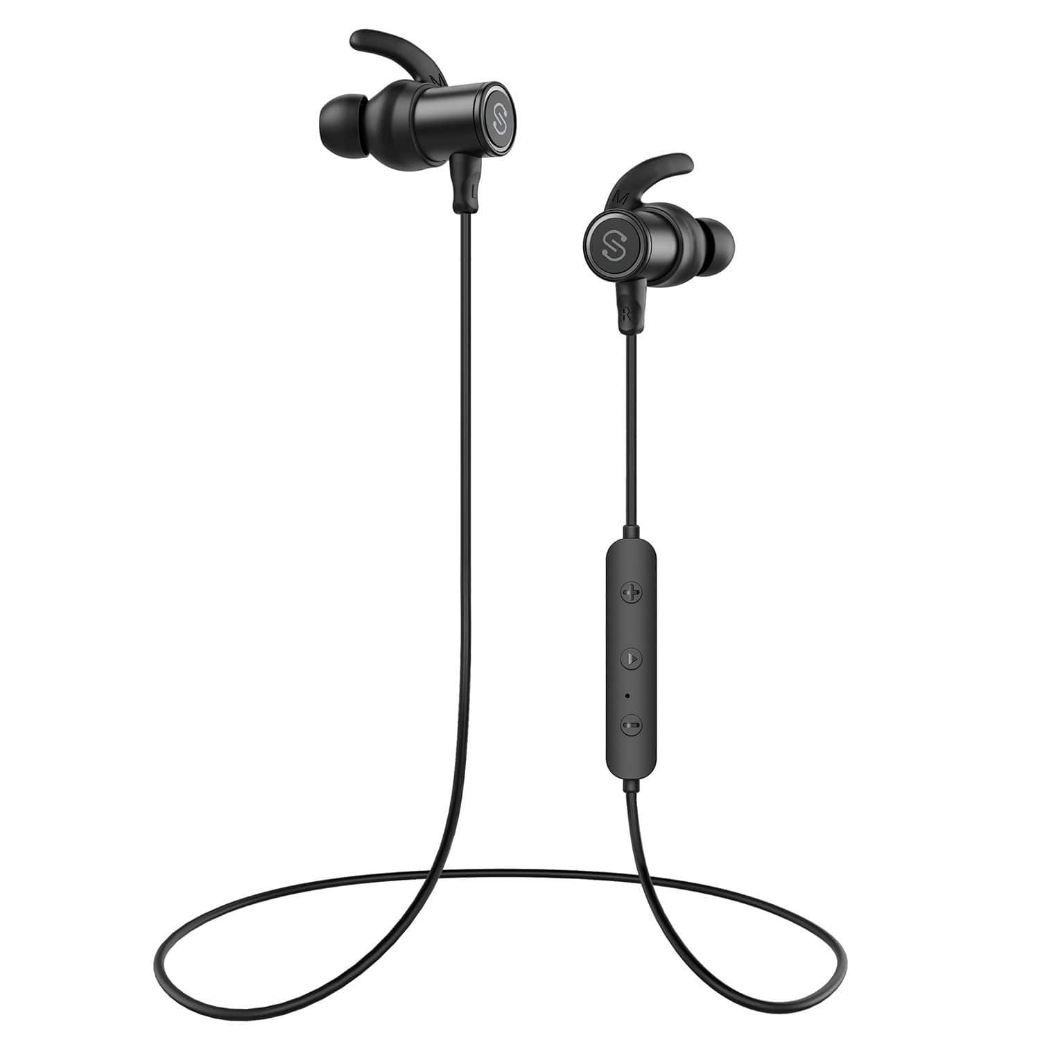 SoundPEATS Magnetic Wireless Bluetooth In-Ear Earphones with Built-in Mic and 8 Hours Battery $19.13 + Free S/H