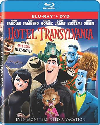 Hotel Transylvania (DVD + Blu-ray + Digital + Ultraviolet) for $7.99 @Amazon