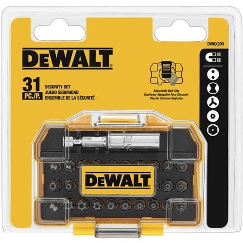 Add-on Item: 31-Piece DEWALT DWAX200 Security Screwdriving Set- $9.48