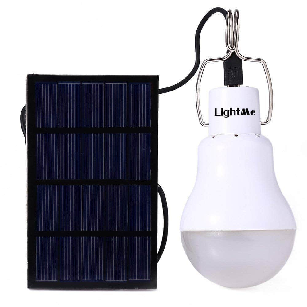 15-Watt Equivalent 130LM Portable Solar Powered Led Bulb Light - $5.99 @Amazon