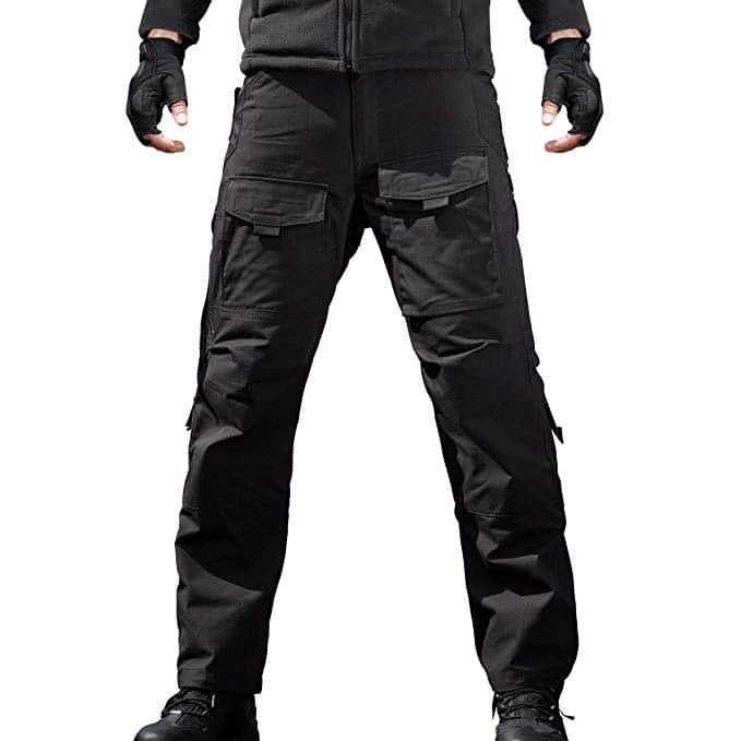 Men's Outdoor Tactical Pants with Cargo Pockets for $26.39 + Free Shipping