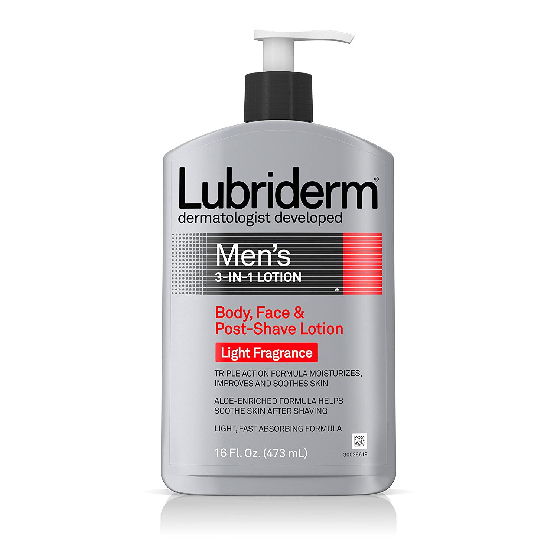 Lubriderm Men's 3-In-1 Lotion with Aloe (16 fl. oz.) $5.68 w/ S&S