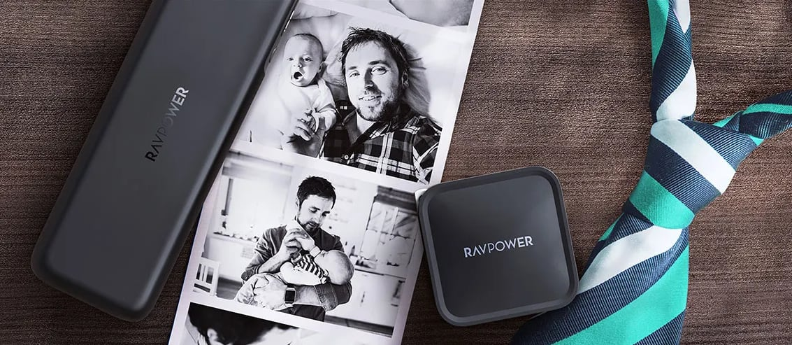 RAVPower Father's Day Sale: Buy One Get One 60% Off + Free Shipping