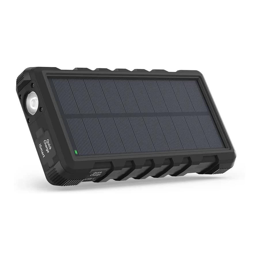 Ravpower 25000mAh Portable Charger 3-Port Solar Power Bank $22.99 after coupon