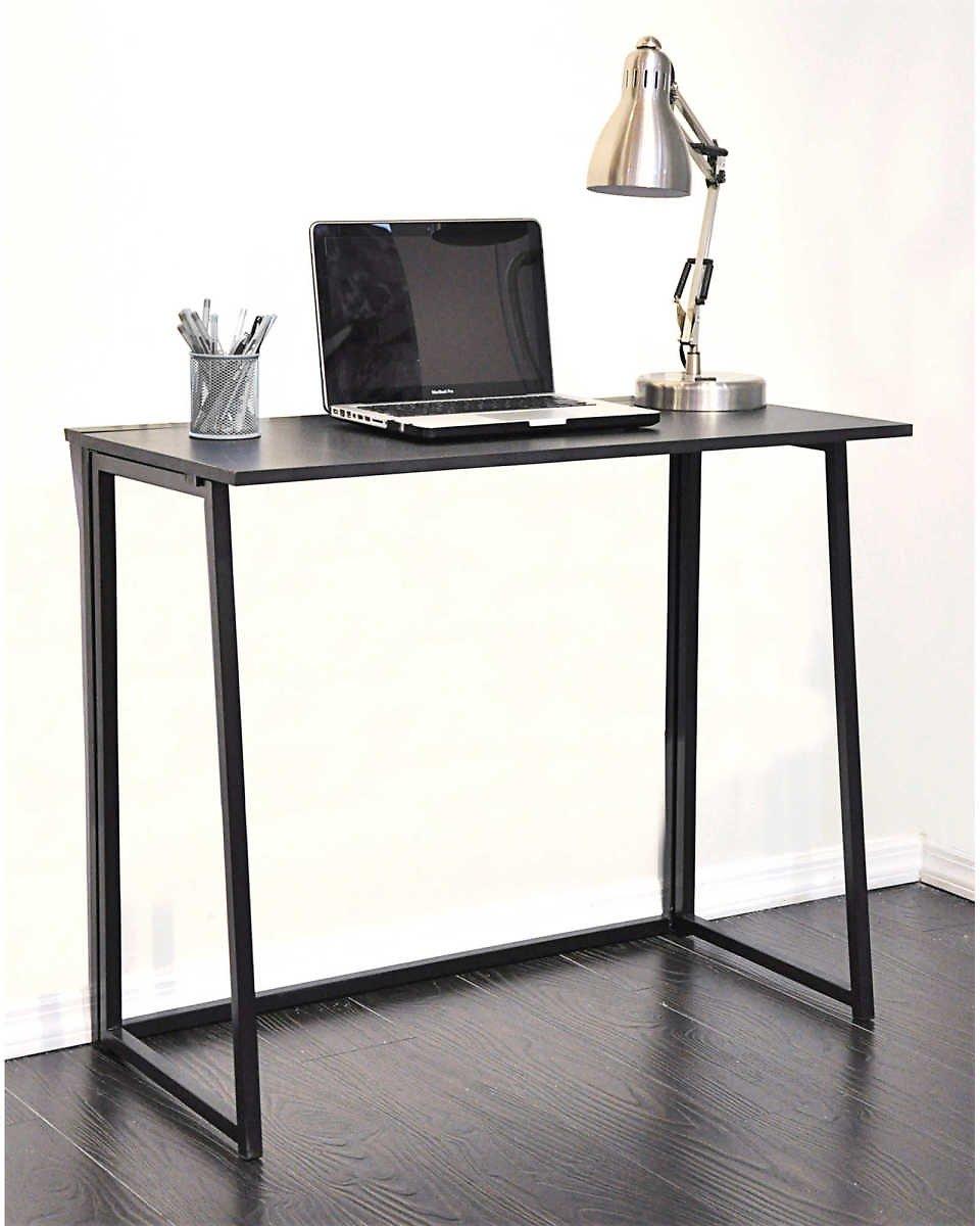 Wooden Folding Writing Desk in Black $29.99 + fs @bedbathandbeyond.com