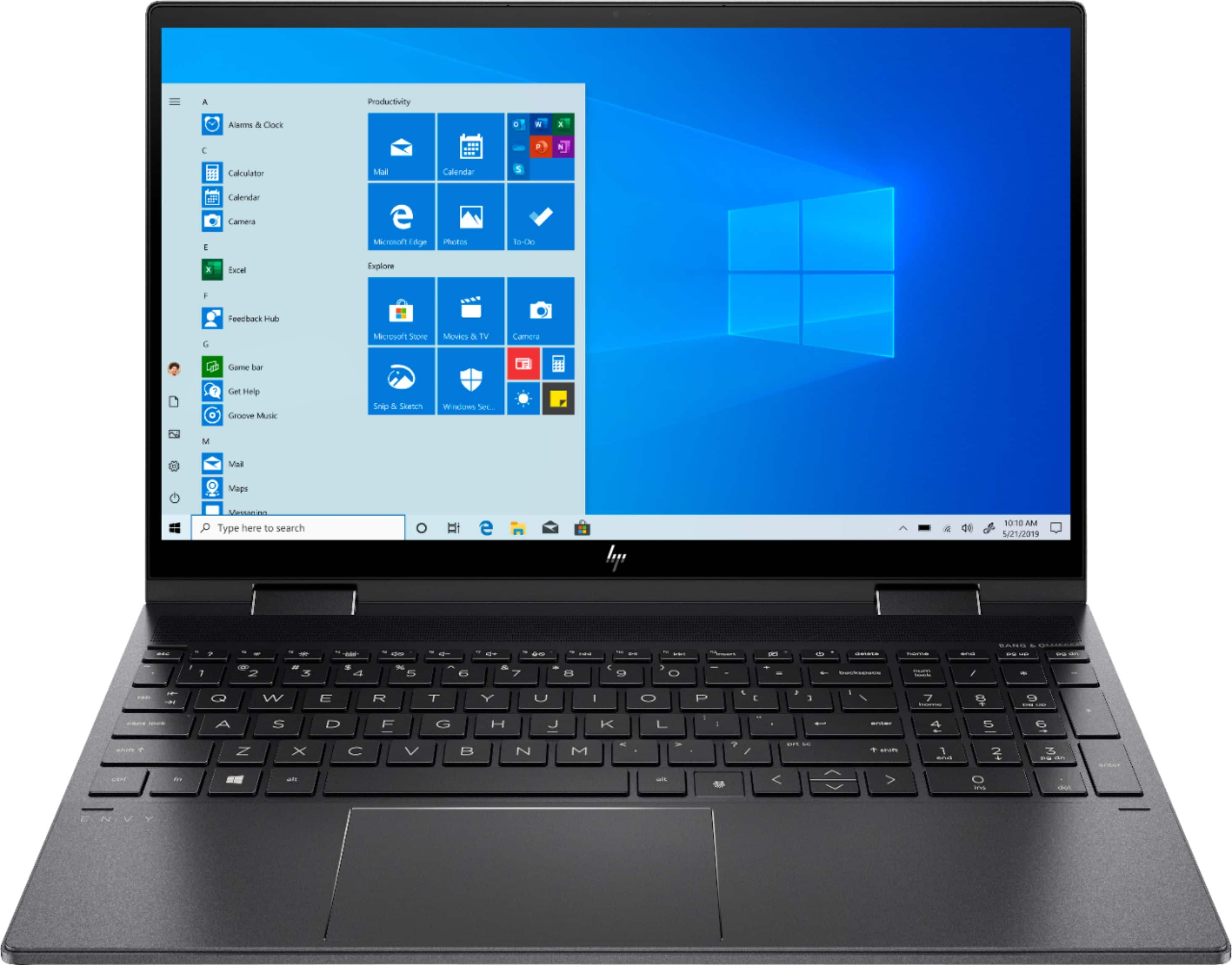 "Best Buy Members: HP - ENVY x360 2-in-1 15.6"" AMD Ryzen 5 - 8GB Memory - 256GB SSD $579.99"