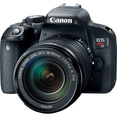 ** Military Only ** Canon EOS Rebel T7i 24MP DSLR Camera with EF-S 18-135 IS STM Lens Kit