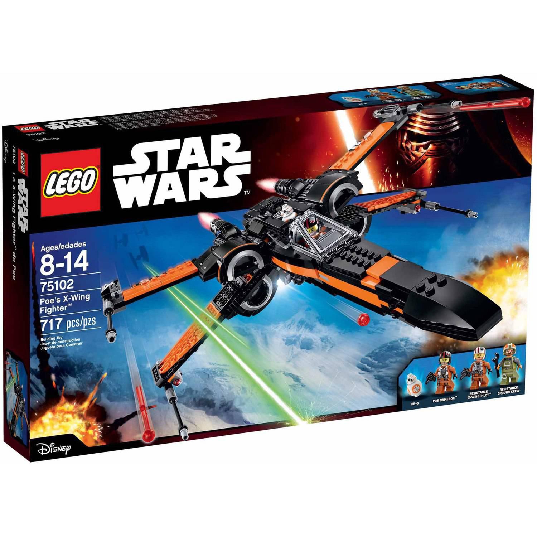 Lego Star Wars Poe's X-Wing Fighter 75102 $49 YMMV Walmart B&M
