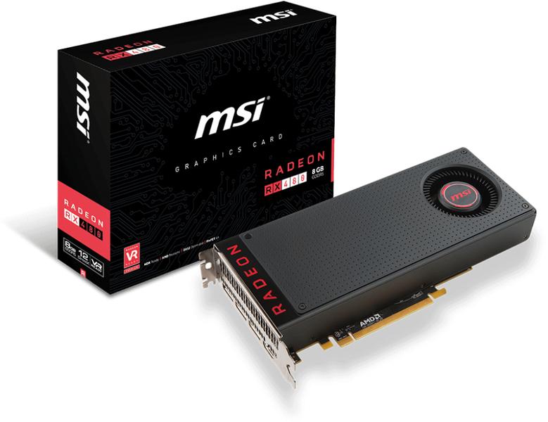 MSI Radeon RX 580 DirectX 12 RX 580 8GB 256-Bit ~$208 after 15% off new customers @ Jet.com