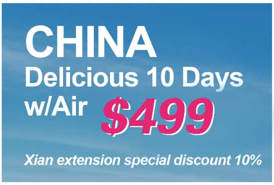 $599 10 day China Tour from LAX/ORD/Seattle ALL INCLUSIVE @TravelZoo