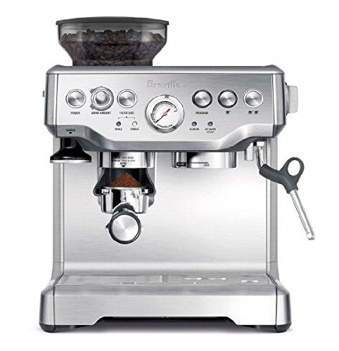 Breville RM-BES870XL Barista Express Espresso Machine , Silver (Renewed)  $356 $356.41