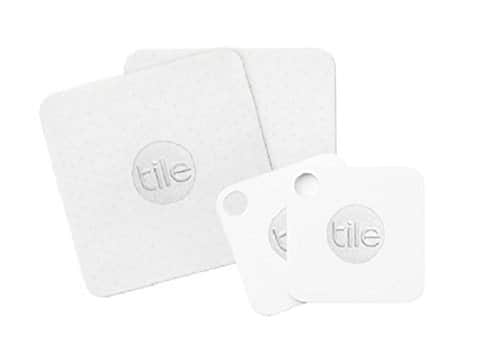 Tile Combo Pack Wireless Security Tag Key Tracker (2 Mate + 2 Slim) Existing Google Express Users Only $40
