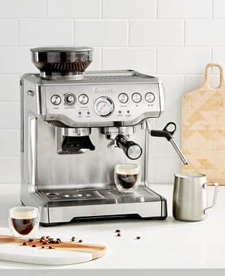 Breville BES870XL The Barista Express Espresso Maker & Reviews - Coffee Makers - Kitchen - Macy's - $599.99