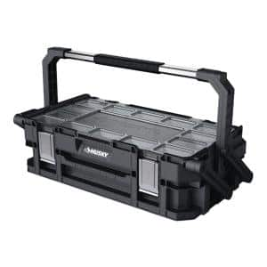 Husky 22-in Cantilever Tool Box $7.92 YMMV @Home Depot