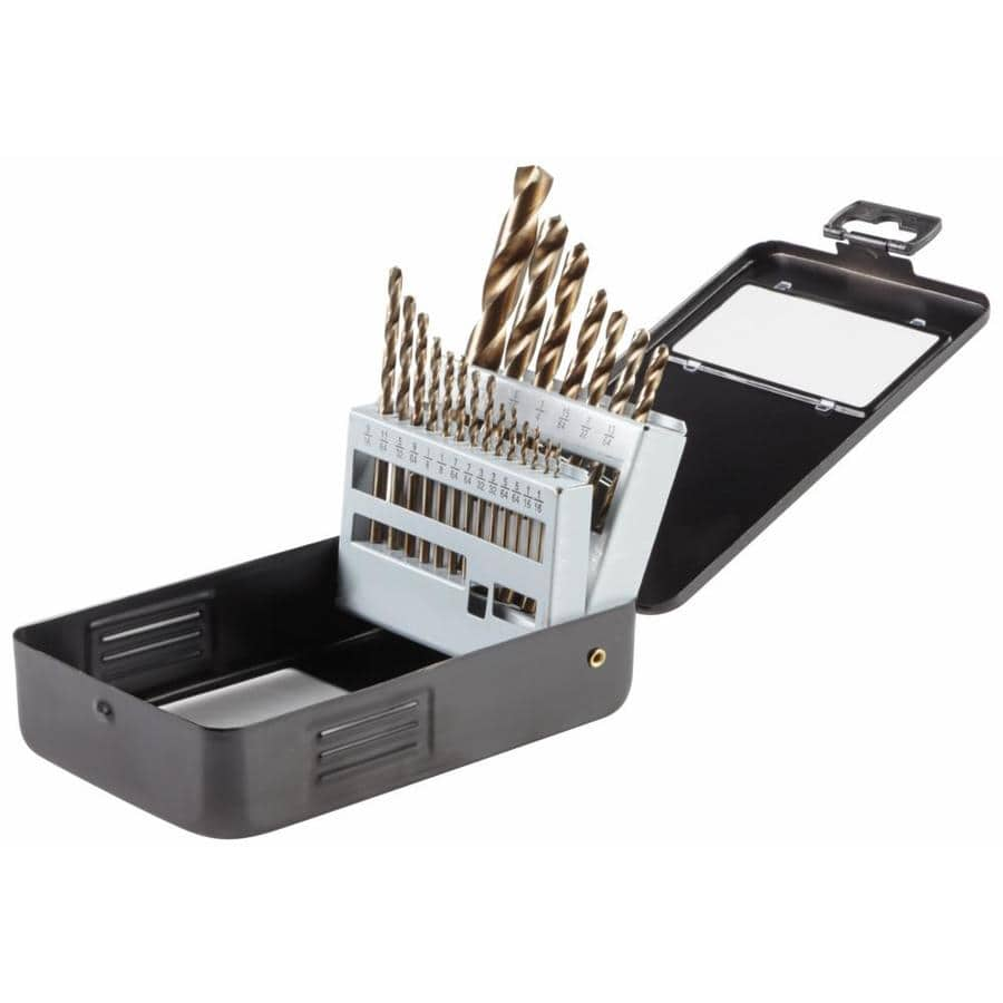 Bosch 21-Piece Gold Oxide Drill Bit Set @Lowe's $9.98