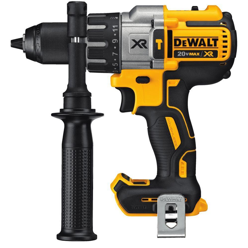 DEWALT 20V XR Brushless Hammer Drill , 3-Speed, Tool Only (DCD996B) $109.87