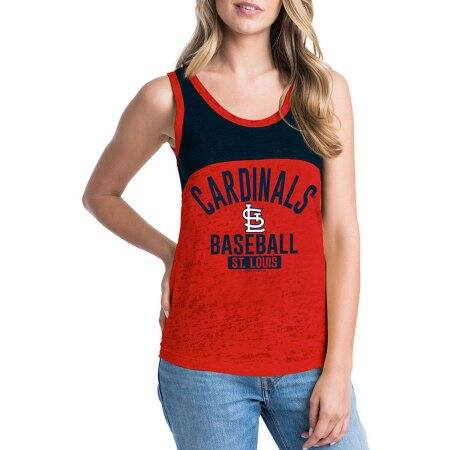 MLB St. Louis Cardinals Women's Short Sleeve Team Color Graphic Tee (Size M & XL) $5