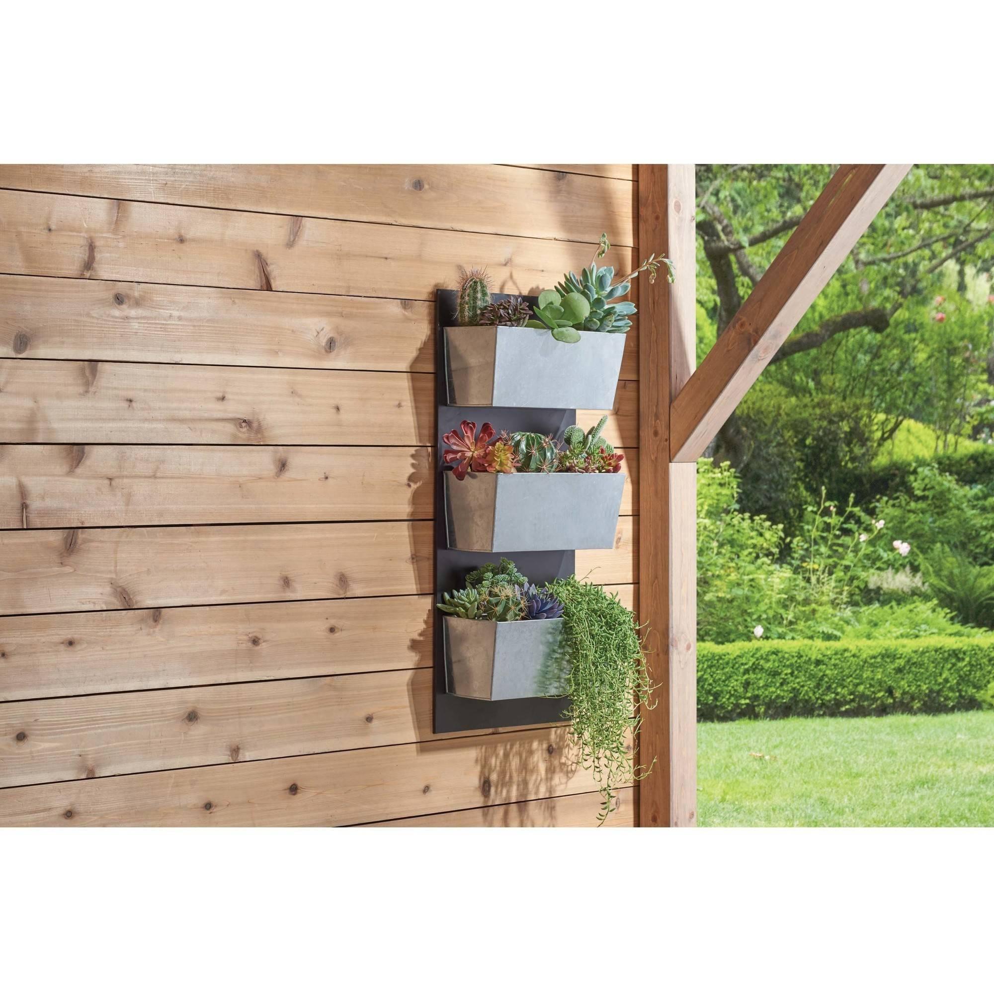 Galvanized-Finish Vertical Planter Grid $13.18