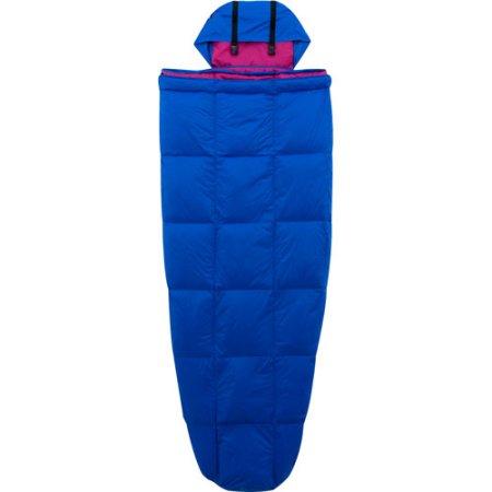 Ozark Trail 10-Degree Adult Down Packable Sleeping Bag, Blue/Purple Walmart $16.97