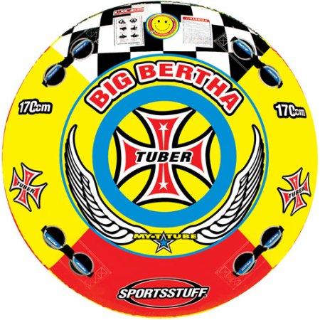SportsStuff Big Bertha, Red and Yellow $80