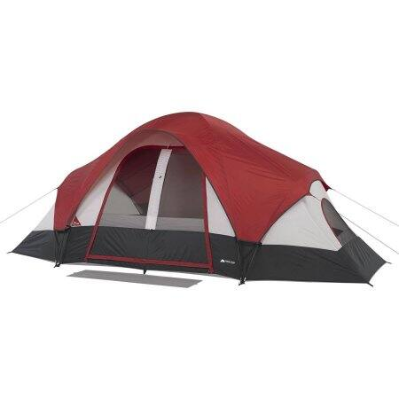 Ozark Trail 8-Person Family (red) Tent. FS from walmart.com $44.97