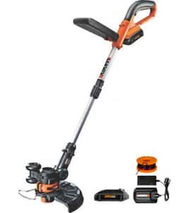 WG156 WORX 20 Volt 2-in-1 Lithium Cordless Grass Trimmer for $74.99 + free shipping @ Ebay