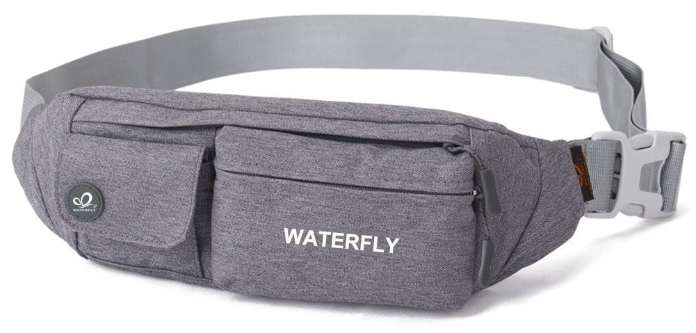 Slim Soft Polyester Water Resistant Waist Bag Pack from $4.99