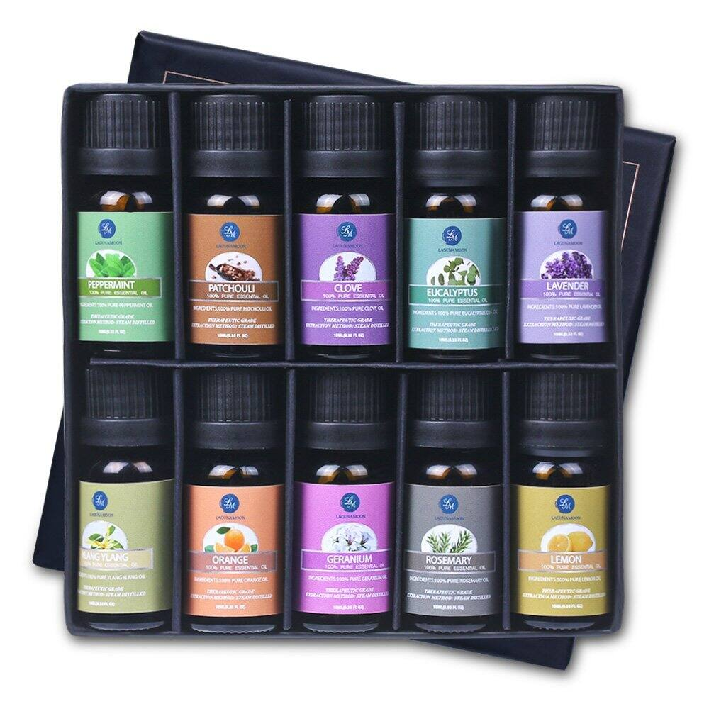 Top 10 Pure Aromatherapy Oils Gift Set for $13.59 + Free Shipping