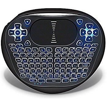 ANEWKODI Backlit Mini Wireless Touchpad Keyboard with Mouse $11.99