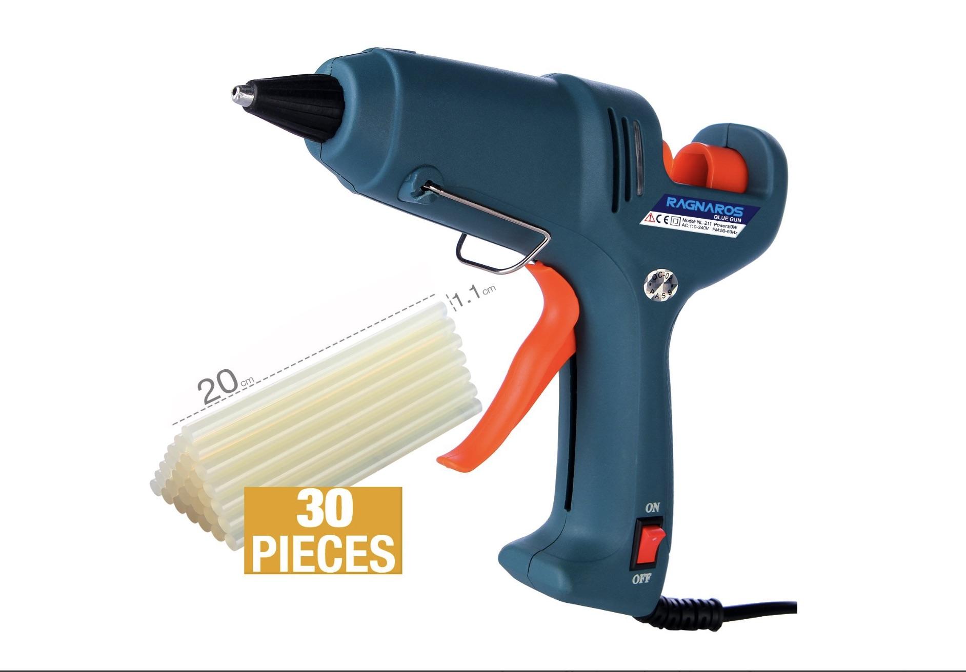 Hot glue gun kit with glue sticks $14.39