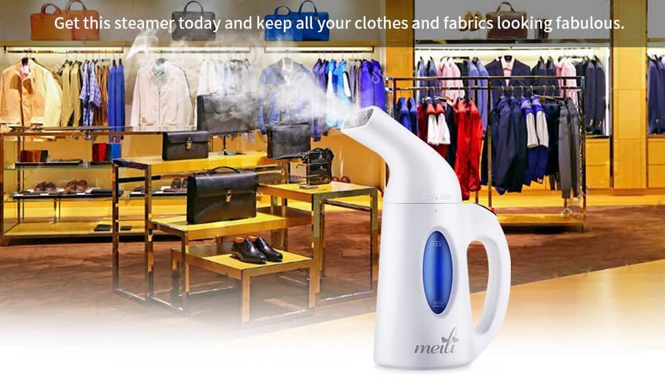 Steamer For Clothes (Powerful Handheld Clothes Steamer) $18.19