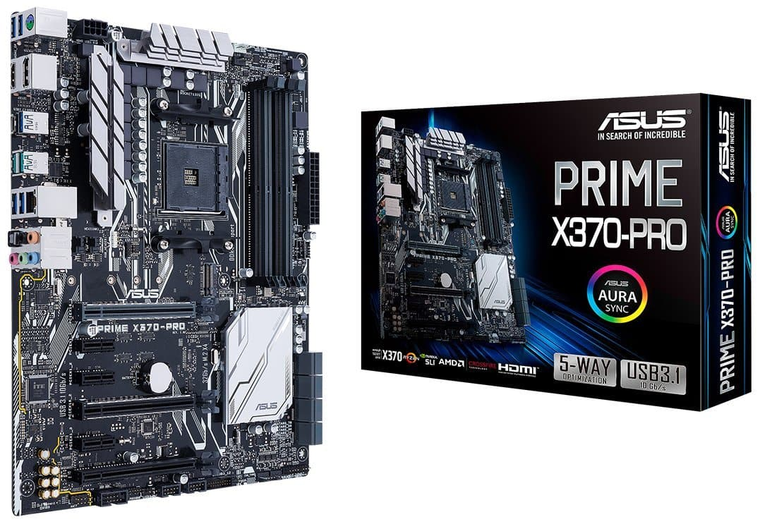 ASUS Prime X370 Pro AM4 Motherboard at $98.99 after Rebate