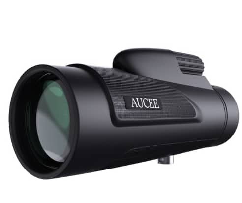 AUCEE 12X50 High Power Prism Monocular Telescope for $9.99 @ eBay
