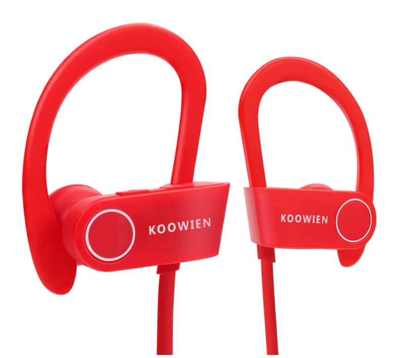 KOOWIEN Bluetooth 4.1 Wireless Headphones with Built-in Mic for $4.95 @Amazon