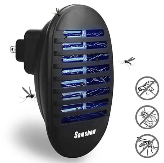 Bug Zapper, Mosquito Killer, Indoor Insect Killer Electronic Repeller for $9.99 @Amazon