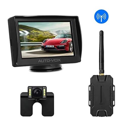 Auto Vox M1w Wireless 4 3 Tft Rear View Backup Car Camera Kit For