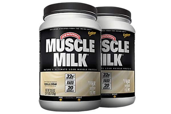 Muscle Milk 2x2.47 lbs Bundle Pack for $22 + $6 Shipping at Supplement Hunt