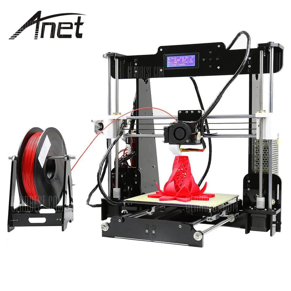Anet A8 Desktop 3D Printer Prusa i3 DIY Kit - $149.99 + Free Shipping