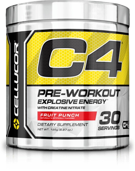 Cellucor: Buy One Get One Free C4- $29.99 for 2x 30 servings (60 servings) + Free Shipping