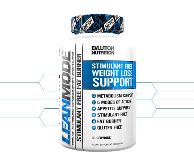 EVLUTION NUTRITION LeanMode 150 Capsules for $14.99 + Shipping