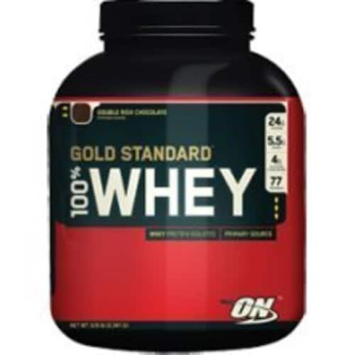 Optimum Nutrition Gold Standard 100% Whey Protein- 5 lbs for $46.39 + Free Shipping