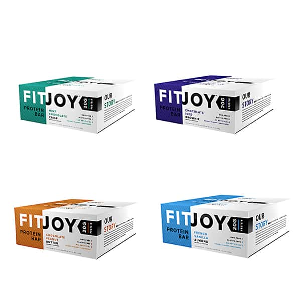 2 Cases of FitJoy Protein Bars (24 Bars) for $19.99 + Shipping
