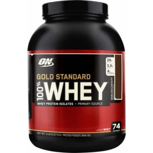 6.7 lbs Optimum Nutrition Gold Standard 100% Whey for $53.99 + Free Shipping