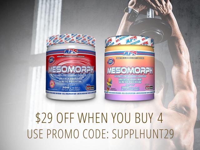 Mesomorph Preworkout- 2 for $55 or 4 for $99