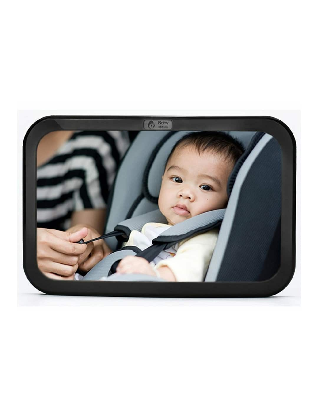 Back Seat Mirror - Rear View Baby Car Seat Mirror by Baby & Mom for $9.84 + Free Shipping