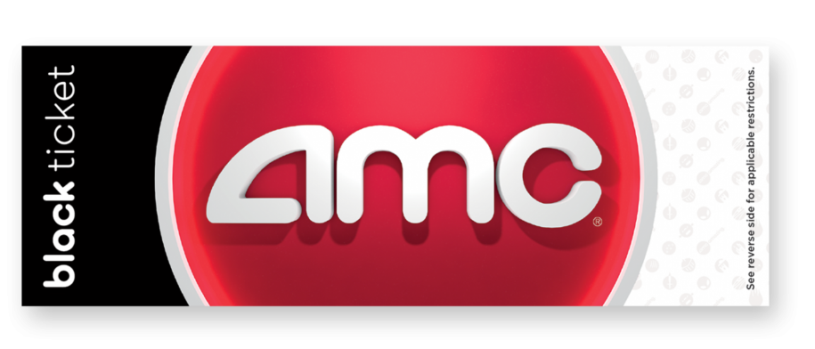 AMC Movie Tickets (Black) for $8.99