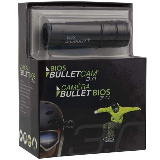 Bios Bullet CAM 3.0 Waterproof Action Camera w/ Free Accessory Bundle for $11.99 + Free Shipping