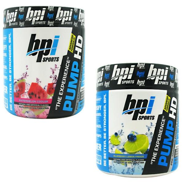 2 x BPI Pump HD Preworkouts (25 servings each) for $12.99 + Shipping