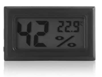 Mini Digital LCD Indoor Thermometer Hygrometer for $0.99 + Free Shipping