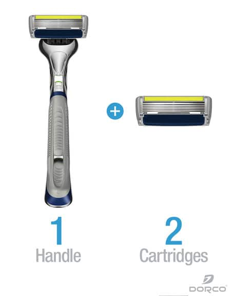 Dorco: Pace 6 Plus Razor for $1 + $1.99 Shipping
